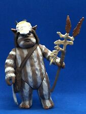 STAR WARS POTF-2 LOGRAY THE EWOK LOOSE COMPLETE
