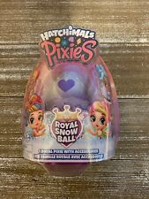 *HATCHIMALS ROYAL SNOW BALL* Pixies Mystery Egg (colors Vary)