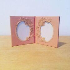 Petit cadre photo tissu et dentelle
