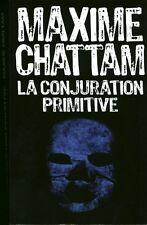 Livre la conjuration primitive Maxime Chattam book