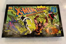 THE UNCANNY X-MEN ALERT! Adventure Board Game Pressman 1992 Missing 2 Strength