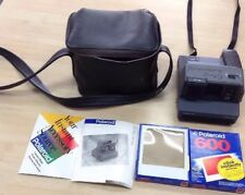 Vintage Polaroid Impulse Camera with Case and 2 pkg of unopened film.