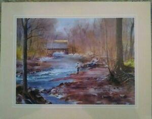ranulph bye watercolor prints set of 4