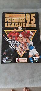 Merlins Premier League 1995 95 Sticker Collection Album Vintage Retro Football