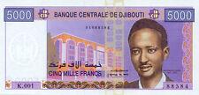 Djibouti P-44 5000 francs (2002) UNC