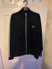 Fred Perry Taped track top- Size L