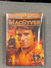 MacGyver The Complete First Season 1 One Dvd 6 disc box set 2005 Sealed New