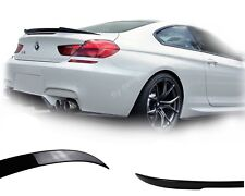 für BMW f13 coupe m6 2011-2015 glanz schwarz heckspoiler spoiler typ v heckflüge