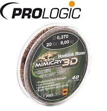 (0,17€/1m) Prologic Hooklink Mono Mirage XP 40m 9kg 0,37mm - Vorfachschnur, Vorf