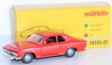 Märklin 1:43 18103-01 Opel Manta A aus Metall in rot - NEU + OVP