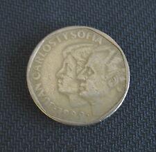 (1) 1989 Espana 500 Pesetas Coin Juan Carlos Spain Aluminum-Bronze Circulated