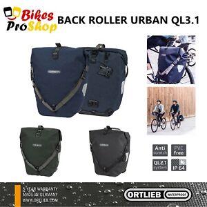 ORTLIEB Back Roller URBAN QL3.1 (Single) - Bike Bicycle Pannier Bag GERMANY 2021