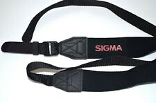 Sigma Camera Strap For Camera Neck Strap Original OEM Authentic Black