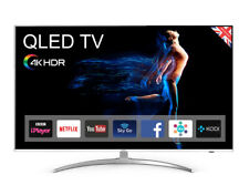 "Cello C55SFS4K QLED 55"" 4K HDR Smart TV - Silver"