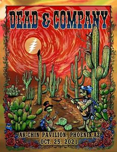 2021 Dead and Company Phoenix Poster