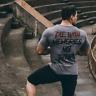 Men Summer Gym T-Shirt Male Casual Fitness T-Shirt Fashion Crossfit Short Sleeve