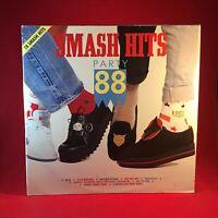 VARIOUS Smash Hits Party 88 - 1988 UK Double vinyl LP Kylie Minogue BROS Erasure