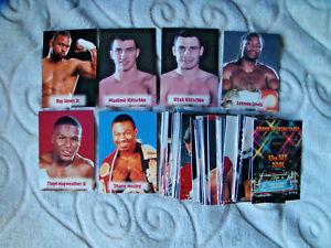 2001 Brown Boxing card set 13th series Floyd Mayweather Klitschko Lennox