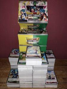 Lot 50 Cartes DRAGON BALL SUPER CARD GAME DBZ Françaises 0 Double NEUF + Rare
