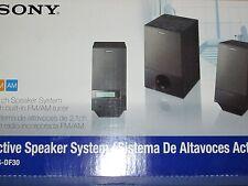 SONY SRSDF30 2.1ch PC Speakers with Radio: SRS-DF30 NEW