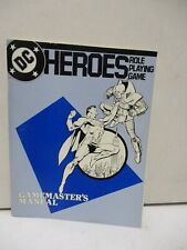 1985 DC Heroes Role Playing Game Gamemasters Manual