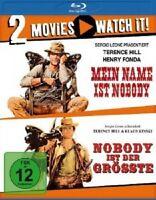 MEIN NAME IST NOBODY& NOBODY IST DER GRÖßTE - TERENCE HILL - 2 BLU-RAY - NEU!!