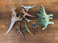 Jurassic Park -Stegosaurus & T-Rex Dino Damage Plus Other Figures Kenner - 1993