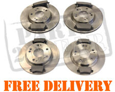 Honda Civic 1.4 2006-2011 Front and Rear Brake Discs and Pads Set