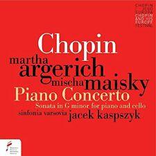 CHOPIN: PIANO CONCERTO NO.1 - ARGERICH MARTHA/MISCHA MAISKY [CD]
