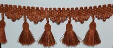 1 meter   ITALIAN   Curtain Tassel Fringe Trim Upholstery  8 cm- PL-3462