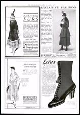 1916-ANTIQUE PRINT Advertising Debenham Freebody BURBERRYS Lotus (058)