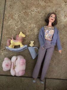Happy Family Barbie Grandma Doll Baby Birthday Midge's Mom Complete Set Playset