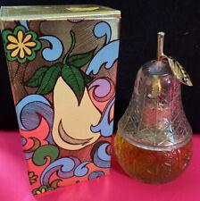 Vintage Avon Pear Lumiere BIRD OF PARADISE Cologne Mist SPRAY 2oz - NOS