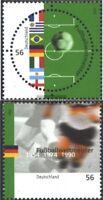 BRD (BR.Deutschland) 2258-2259 (kompl.Ausg.) gestempelt 2002 Fußballweltmeister