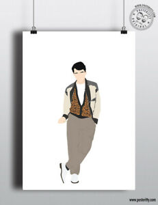 FERRIS BUELLER - Day Off - 80's Icon Characters Poster Minimal Print Art Design
