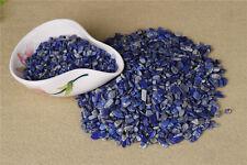 Natural Blue Lapis Lazuli Quartz Crystal Rough Polished Gravel Specimen100g