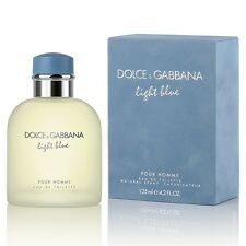 Dolce & Gabbana LIGHT BLUE 4.2 oz Eau De Toilette EDT Men's Cologne *NEW IN BOX*