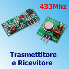 Module 433Mhz RF Wireless Trasmettitore Ricevitore per Arduino ARM MCU ASK PIC