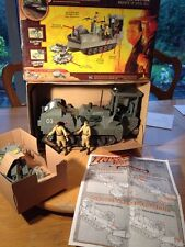 Indiana Jones Raiders of the Lost Ark convoy Cortador + 2 soldados rusos MIB