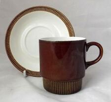 1960-1979 Date Range Poole Pottery Cups & Saucers