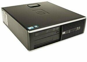 Hp Compaq 8200 SSF Desktop 3.40GHz Intel Core i7-2600@3.40GHz Windows 7 Pro 64