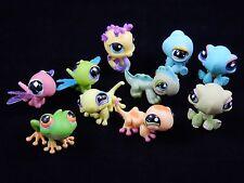 Littlest Pet Shop LPS Lizards Frog Turtles Dragonflies Seahorse