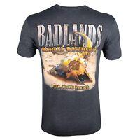 Badlands Harley-Davidson® Men's Metal Buffalo T-Shirt
