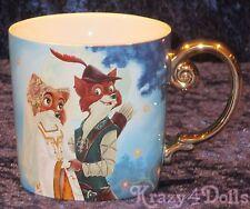 Disney Designer Fairytale Doll Collection Robin Hood Coffee Mug NEW