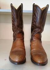 Mens' Size 8 1/2 D Nocona Brown Western Cowboy Boots