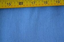 "By 1/2 Yd, 35"" Wide Vintage 1940's-60's, Solid-Blue Linen, D824"