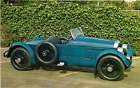 Vintage Postcard - Classic Car Blue 1917 Cunningham Boattail Speedster #5589