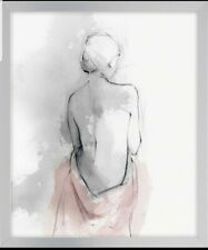 Pastel Woman I by Izabelle Z 54x64cm framed picture