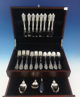 Grande Baroque by Wallace Sterling Silver Flatware Set Service 36 Pieces