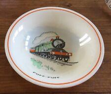Burleigh Ware Puff Puff Nursery Ware Bowl Steam Train C 1930